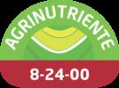 Fuente de fósforo y nitrógeno de alta disponibilidad para la planta.