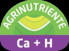 Fertilizante líquido con alto contenido de calcio quelatado con ácidos húmicos.